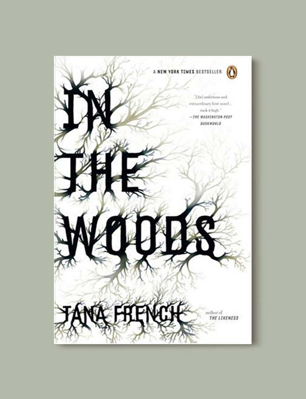 Books Set In Ireland - In the Woods (Dublin Murder Squad 1/6) by Tana French. For more books that inspire travel visit www.taleway.com to find books set around the world. irish books, books about ireland, ireland inspiration, ireland travel, novels set in ireland, irish novels, books and travel, travel reads, reading list, books around the world, books to read, books set in different countries, ireland, ireland books, ireland packing list, ireland vacation, irish books novels