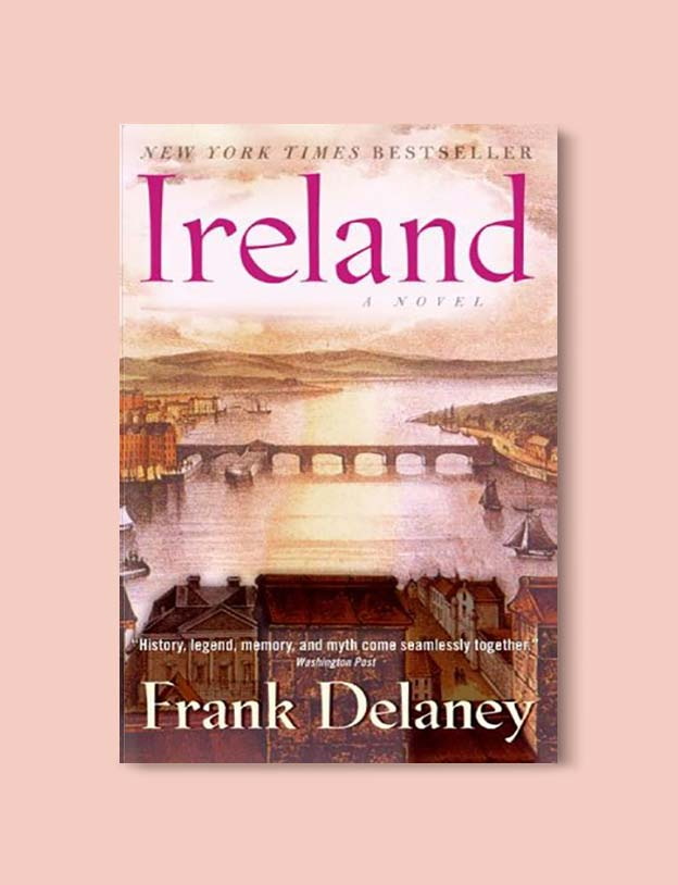 Books Set In Ireland - Ireland by Frank Delaney. For more books that inspire travel visit www.taleway.com to find books set around the world. irish books, books about ireland, ireland inspiration, ireland travel, novels set in ireland, irish novels, books and travel, travel reads, reading list, books around the world, books to read, books set in different countries, ireland, ireland books, ireland packing list, ireland vacation, irish books novels