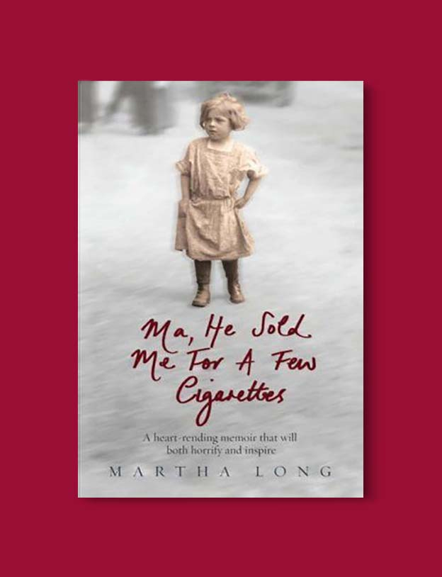 Books Set In Ireland - Ma, He Sold Me for a Few Cigarettes (Ma 1/6) by Martha Long. For more books that inspire travel visit www.taleway.com to find books set around the world. irish books, books about ireland, ireland inspiration, ireland travel, novels set in ireland, irish novels, books and travel, travel reads, reading list, books around the world, books to read, books set in different countries, ireland, ireland books, ireland packing list, ireland vacation, irish books novels