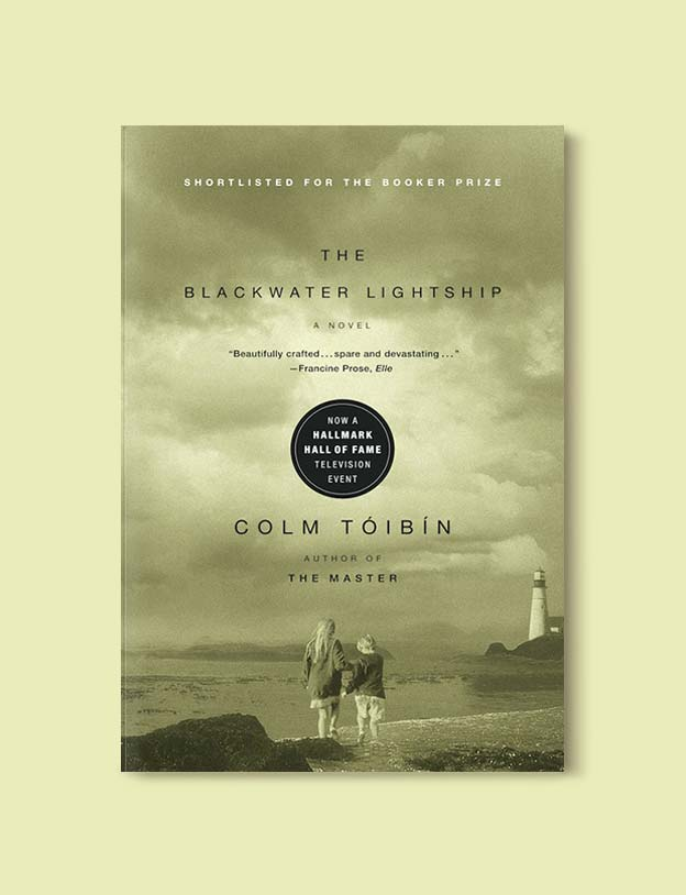 Books Set In Ireland - The Blackwater Lightship by Colm Tóibín. For more books that inspire travel visit www.taleway.com to find books set around the world. irish books, books about ireland, ireland inspiration, ireland travel, novels set in ireland, irish novels, books and travel, travel reads, reading list, books around the world, books to read, books set in different countries, ireland, ireland books, ireland packing list, ireland vacation, irish books novels
