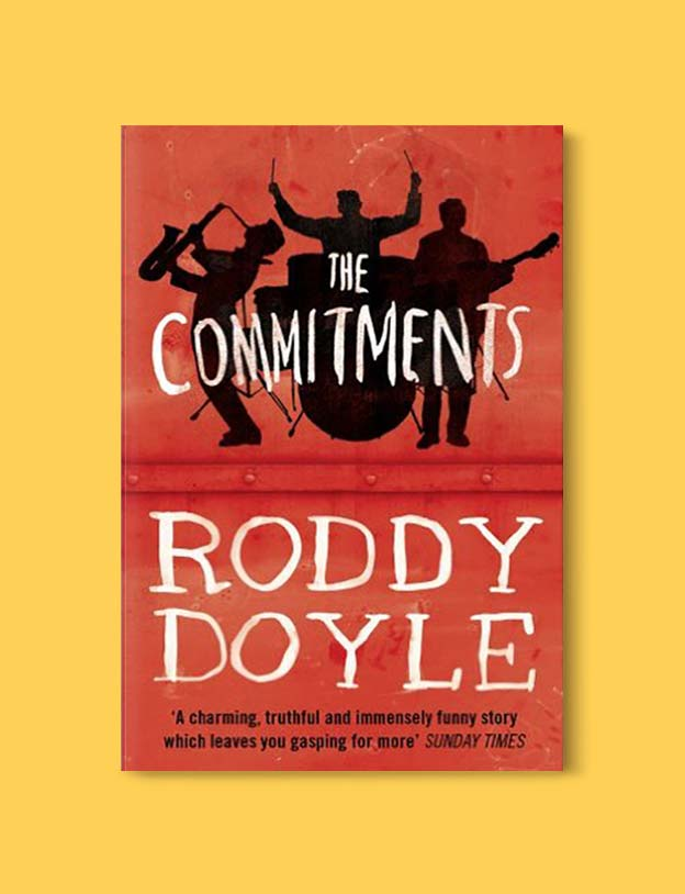 Books Set In Ireland - The Commitments (The Barrytown Trilogy 1/3) by Roddy Doyle. For more books that inspire travel visit www.taleway.com to find books set around the world. irish books, books about ireland, ireland inspiration, ireland travel, novels set in ireland, irish novels, books and travel, travel reads, reading list, books around the world, books to read, books set in different countries, ireland, ireland books, ireland packing list, ireland vacation, irish books novels