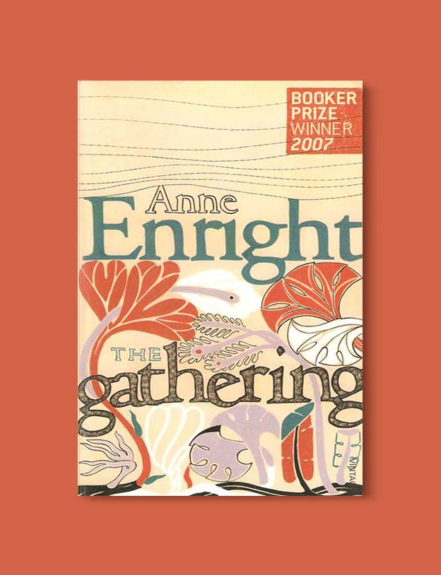 Books Set In Ireland - The Gathering by Anne Enright. For more books that inspire travel visit www.taleway.com to find books set around the world. irish books, books about ireland, ireland inspiration, ireland travel, novels set in ireland, irish novels, books and travel, travel reads, reading list, books around the world, books to read, books set in different countries, ireland, ireland books, ireland packing list, ireland vacation, irish books novels