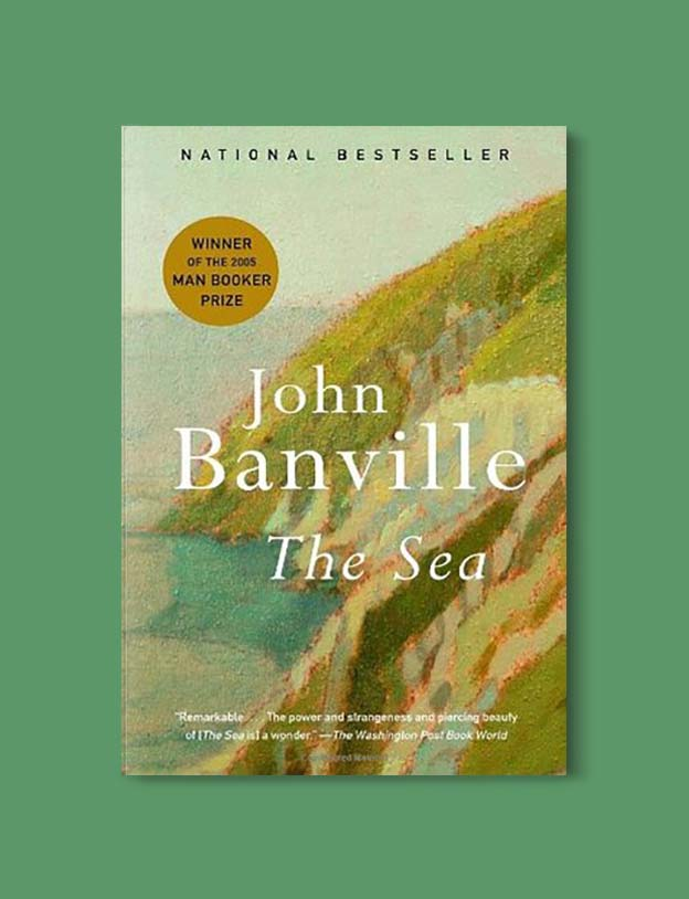 Books Set In Ireland - The Sea by John Banville. For more books that inspire travel visit www.taleway.com to find books set around the world. irish books, books about ireland, ireland inspiration, ireland travel, novels set in ireland, irish novels, books and travel, travel reads, reading list, books around the world, books to read, books set in different countries, ireland, ireland books, ireland packing list, ireland vacation, irish books novels
