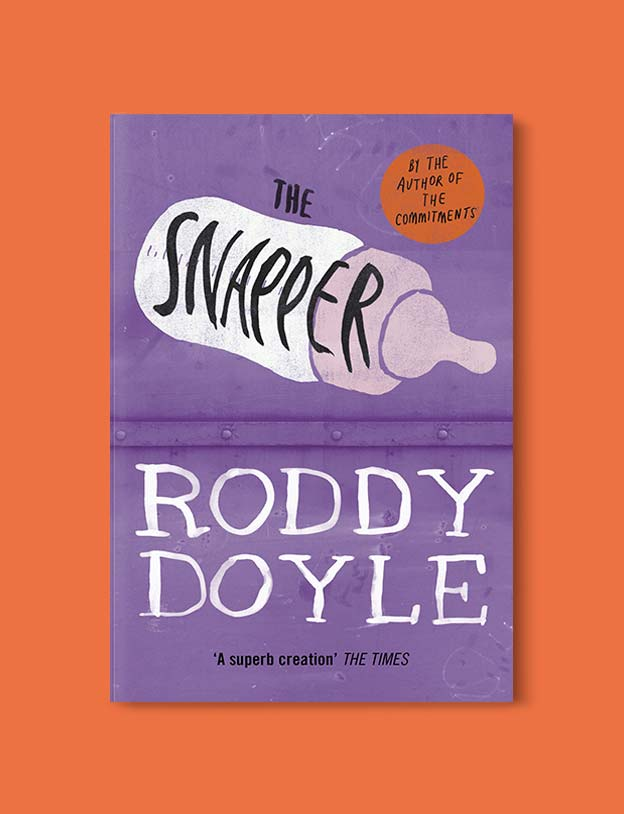 Books Set In Ireland - The Snapper (The Barrytown Trilogy 2/3) by Roddy Doyle. For more books that inspire travel visit www.taleway.com to find books set around the world. irish books, books about ireland, ireland inspiration, ireland travel, novels set in ireland, irish novels, books and travel, travel reads, reading list, books around the world, books to read, books set in different countries, ireland, ireland books, ireland packing list, ireland vacation, irish books novels