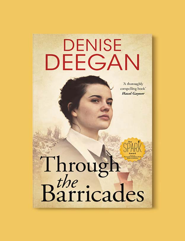 Books Set In Ireland - Through the Barricades by Denise Deegan. For more books that inspire travel visit www.taleway.com to find books set around the world. irish books, books about ireland, ireland inspiration, ireland travel, novels set in ireland, irish novels, books and travel, travel reads, reading list, books around the world, books to read, books set in different countries, ireland, ireland books, ireland packing list, ireland vacation, irish books novels
