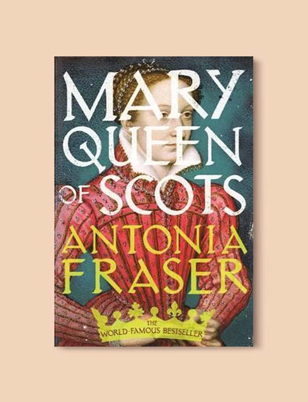 Books Set In Scotland - Mary Queen of Scots by Antonia Fraser. For more books that inspire travel visit www.taleway.com to find books set around the world. scottish books, books about scotland, scotland inspiration, scotland travel, novels set in scotland, scottish novels, scotland novels, books and travel, travel reads, reading list, books around the world, books to read, books set in different countries, scotland, scottish books, scotland packing list, scotland vacation, scotland books novels