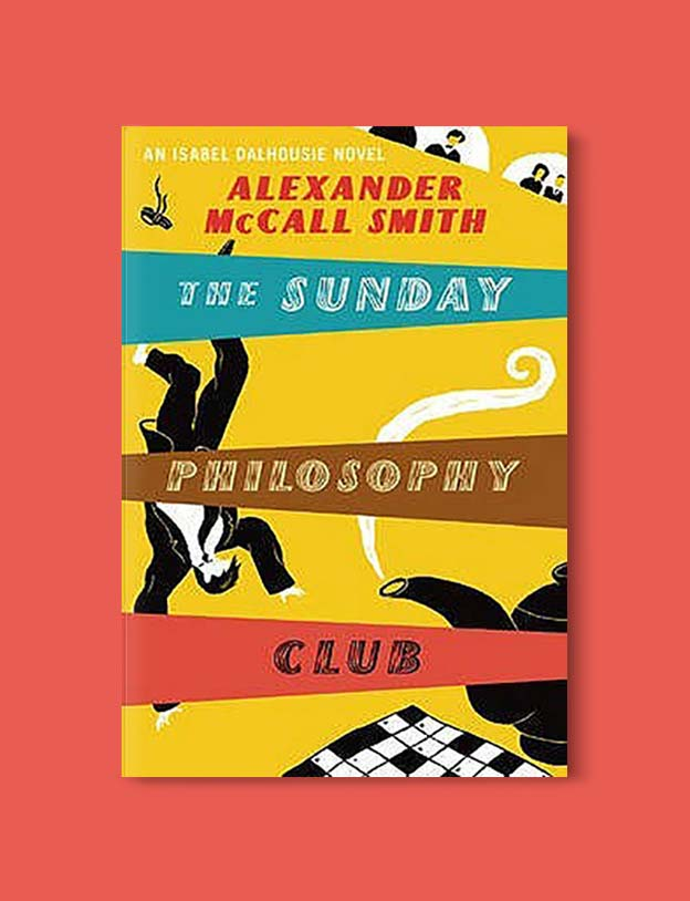 Books Set In Scotland - The Sunday Philosophy Club by Alexander McCall Smith. For more books that inspire travel visit www.taleway.com to find books set around the world. scottish books, books about scotland, scotland inspiration, scotland travel, novels set in scotland, scottish novels, scotland novels, books and travel, travel reads, reading list, books around the world, books to read, books set in different countries, scotland, scottish books, scotland packing list, scotland vacation, scotland books novels