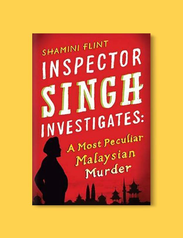 Books Set In Malaysia - A Most Peculiar Malaysian Murder by Shamini Flint. For more books that inspire travel visit www.taleway.com. malaysian books, books about malaysia, malaysia inspiration, malaysia travel, novels set in malaysia, malaysia novels, malaysian novels, books and travel, travel reads, reading list, books around the world, books to read, malaysia, malaysian books, malaysia books, malaysia packing list, malaysia vacation, malaysia kuala lumpur, malaysia backpacking, malaysia culture, malaysia vacation