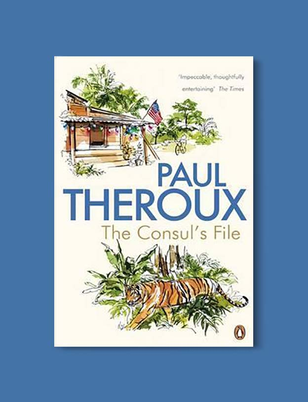 Books Set In Malaysia - The Consul's File by Paul Theroux. For more books that inspire travel visit www.taleway.com. malaysian books, books about malaysia, malaysia inspiration, malaysia travel, novels set in malaysia, malaysia novels, malaysian novels, books and travel, travel reads, reading list, books around the world, books to read, malaysia, malaysian books, malaysia books, malaysia packing list, malaysia vacation, malaysia kuala lumpur, malaysia backpacking, malaysia culture, malaysia vacation
