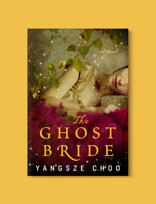 Books Set In Malaysia - The Ghost Bride by Yangsze Choo. For more books that inspire travel visit www.taleway.com. malaysian books, books about malaysia, malaysia inspiration, malaysia travel, novels set in malaysia, malaysia novels, malaysian novels, books and travel, travel reads, reading list, books around the world, books to read, malaysia, malaysian books, malaysia books, malaysia packing list, malaysia vacation, malaysia kuala lumpur, malaysia backpacking, malaysia culture, malaysia vacation