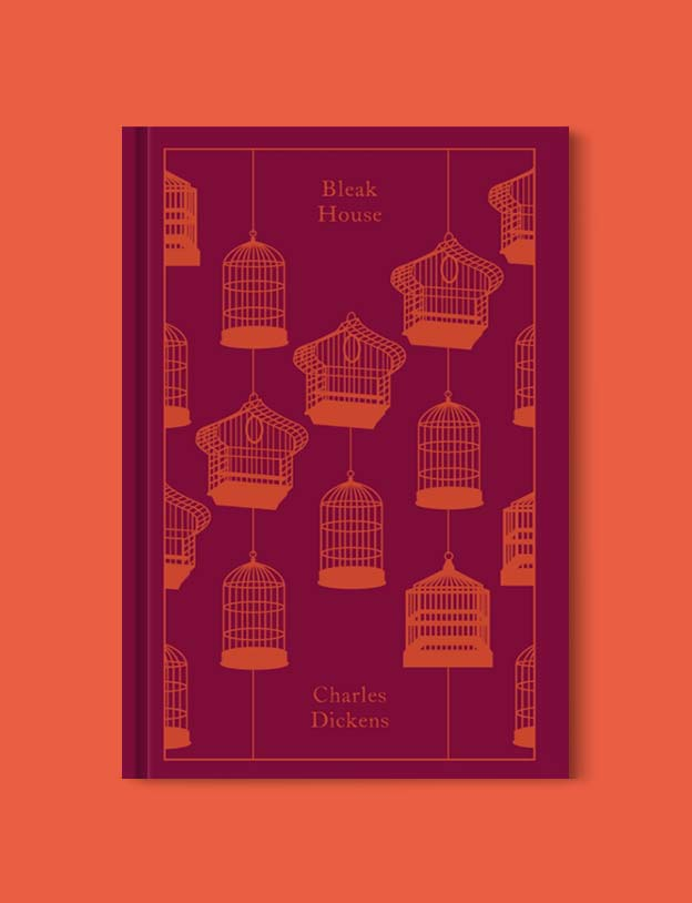 Penguin Clothbound Classics - Bleak House by Charles Dickens. For books that inspire travel visit www.taleway.com to find books set around the world. penguin books, penguin classics, penguin classics list, penguin classics clothbound, clothbound classics, coralie bickford smith, classic books, classic books to read, book design, reading challenge, books and travel, travel reads, reading list, books around the world, books to read, books set in different countries