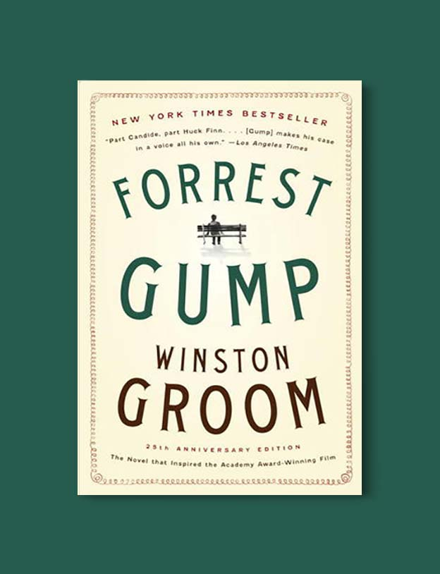 Books Set In Alabama, Forrest Gump by Winston Groom - Visit www.taleway.com to find books set around the world. alabama books, alabama novels, alabama travel, books from every state, books from each state, american books, usa books, us books, book challenge, alabama adventures, alabama road trip, books and travel, travel reading list, reading list, reading challenge, books to read, books around the world