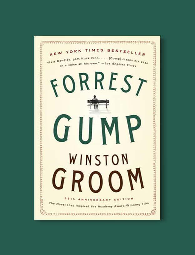 Books Set In Alabama, Forrest Gump by Winston Groom - Visit www ...