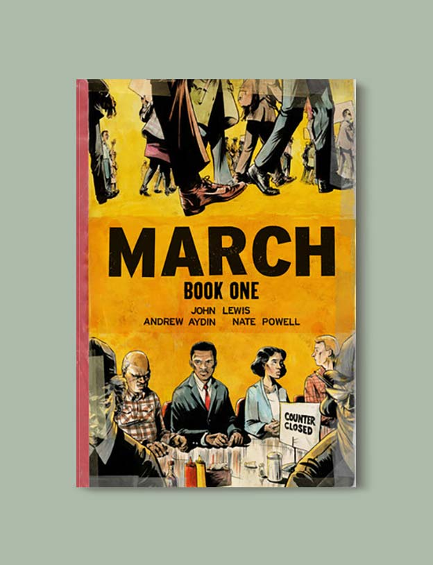 Books Set In Alabama, March by John Lewis - Visit www.taleway.com to find books set around the world. alabama books, alabama novels, alabama travel, books from every state, books from each state, american books, usa books, us books, book challenge, alabama adventures, alabama road trip, books and travel, travel reading list, reading list, reading challenge, books to read, books around the world