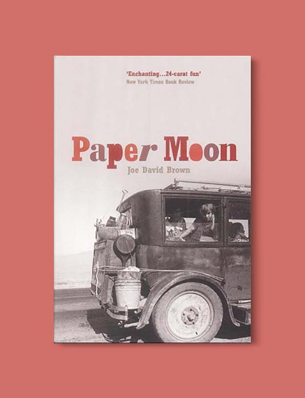 Books Set In Alabama, Paper Moon by Joe David Brown - Visit www.taleway.com to find books set around the world. alabama books, alabama novels, alabama travel, books from every state, books from each state, american books, usa books, us books, book challenge, alabama adventures, alabama road trip, books and travel, travel reading list, reading list, reading challenge, books to read, books around the world