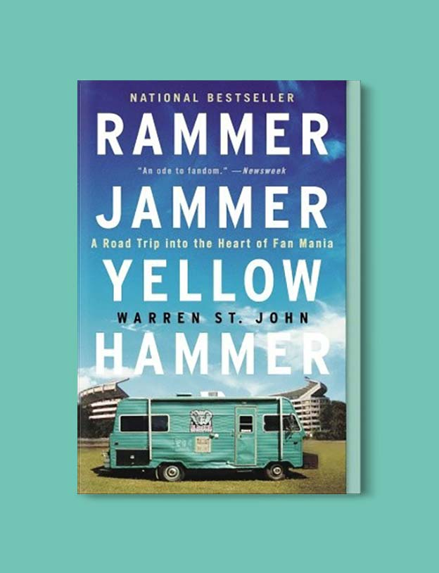 Books Set In Alabama, Rammer Jammer Yellow Hammer by Warren St John - Visit www.taleway.com to find books set around the world. alabama books, alabama novels, alabama travel, books from every state, books from each state, american books, usa books, us books, book challenge, alabama adventures, alabama road trip, books and travel, travel reading list, reading list, reading challenge, books to read, books around the world
