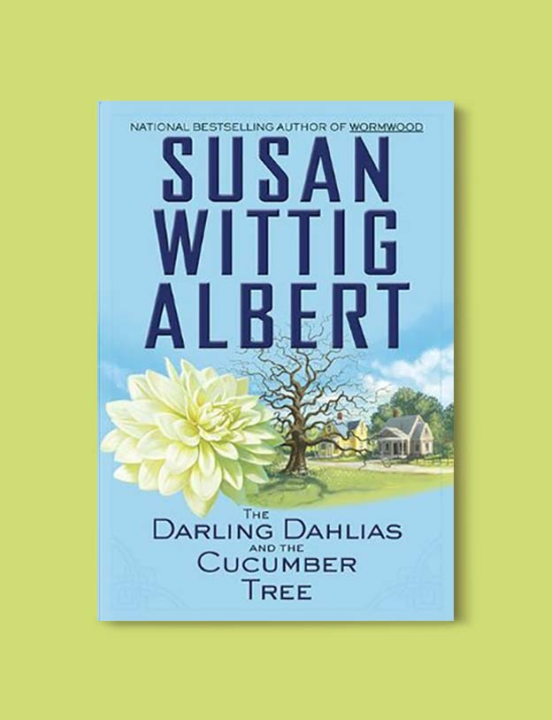 Books Set In Alabama, The Darling Dahlias and the Cucumber Tree by Susan Wittig Albert - Visit www.taleway.com to find books set around the world. alabama books, alabama novels, alabama travel, books from every state, books from each state, american books, usa books, us books, book challenge, alabama adventures, alabama road trip, books and travel, travel reading list, reading list, reading challenge, books to read, books around the world