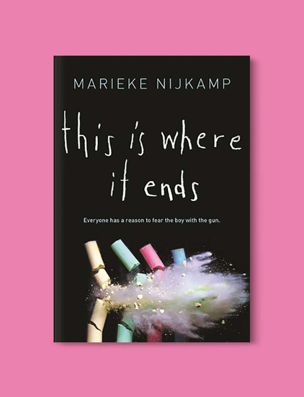 Books Set In Alabama, This Is Where It Ends by Marieke Nijkamp - Visit www.taleway.com to find books set around the world. alabama books, alabama novels, alabama travel, books from every state, books from each state, american books, usa books, us books, book challenge, alabama adventures, alabama road trip, books and travel, travel reading list, reading list, reading challenge, books to read, books around the world