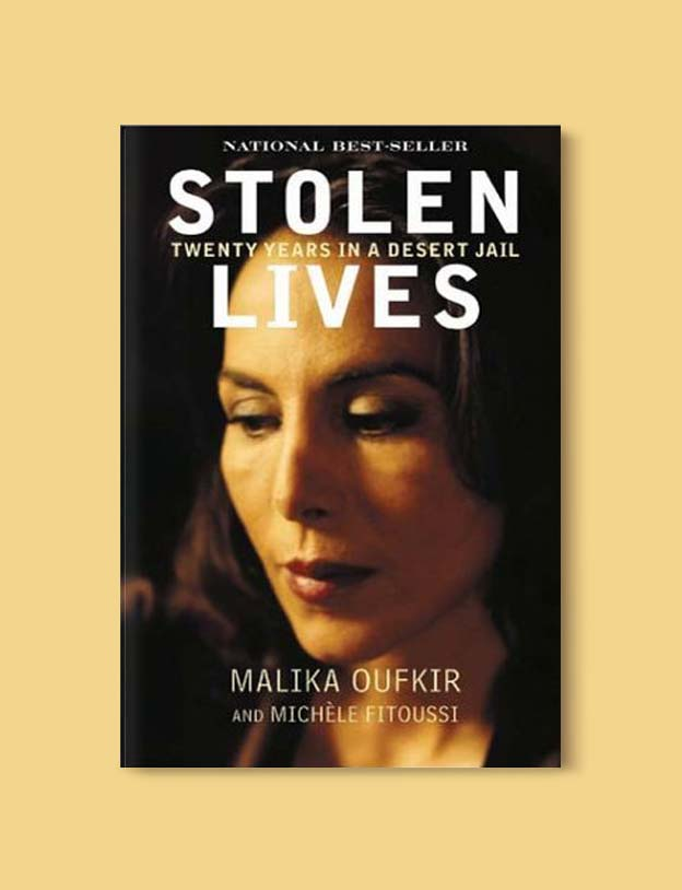 Books Set In Morocco - Stolen Lives by Malika Oufkir. For more Moroccan books that inspire travel visit www.taleway.com. books morocco, morocco book, books about morocco, morocco inspiration, morocco travel, morocco reading, morocco reading challenge, morocco packing, marrakesh book, marrakesh inspiration, marrakesh travel, travel reading challenge, fes travel, casablanca travel, tangier travel, desert travel, reading list, books around the world, books to read, books set in different countries, books and travel, morocco bookshelf
