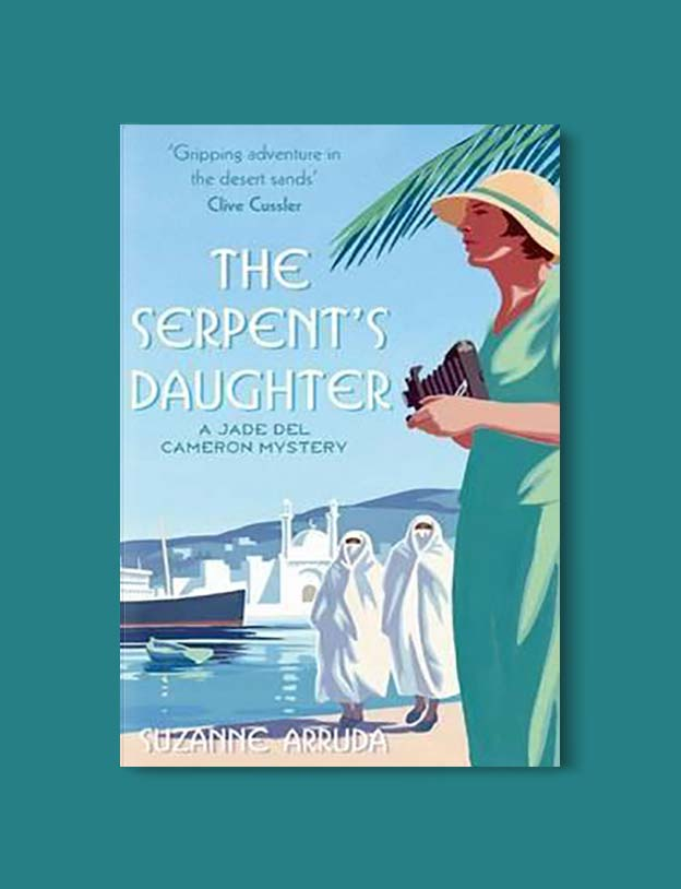 Books Set In Morocco - The Serpent's Daughter by Suzanne Arruda. For more Moroccan books that inspire travel visit www.taleway.com. books morocco, morocco book, books about morocco, morocco inspiration, morocco travel, morocco reading, morocco reading challenge, morocco packing, marrakesh book, marrakesh inspiration, marrakesh travel, travel reading challenge, fes travel, casablanca travel, tangier travel, desert travel, reading list, books around the world, books to read, books set in different countries, books and travel, morocco bookshelf