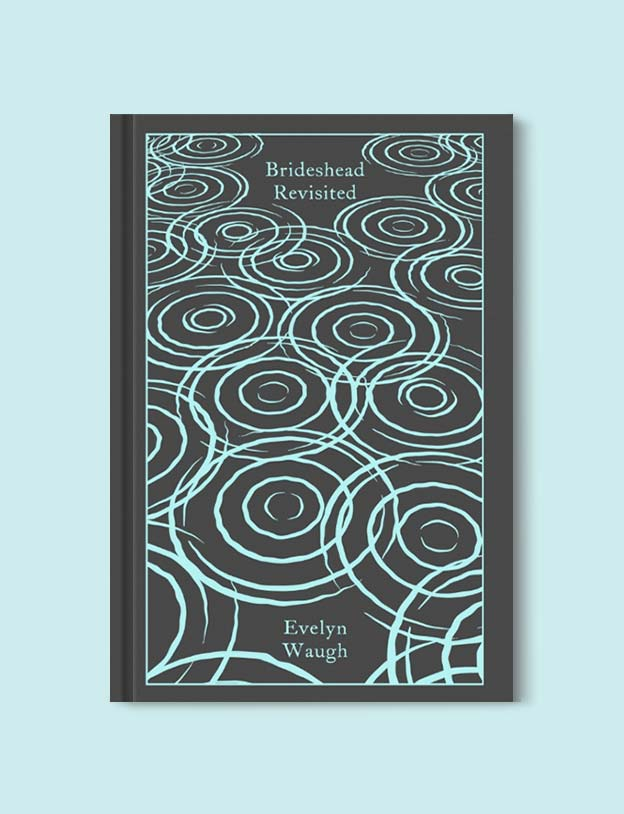 Penguin Clothbound Classics - Brideshead Revisited by Evelyn Waugh. For books that inspire travel visit www.taleway.com to find books set around the world. penguin books, penguin classics, penguin classics list, penguin classics clothbound, clothbound classics, coralie bickford smith, classic books, classic books to read, book design, reading challenge, books and travel, travel reads, reading list, books around the world, books to read, books set in different countries