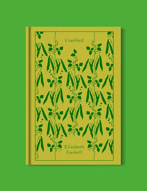 Penguin Clothbound Classics - Cranford by Elizabeth Gaskell. For books that inspire travel visit www.taleway.com to find books set around the world. penguin books, penguin classics, penguin classics list, penguin classics clothbound, clothbound classics, coralie bickford smith, classic books, classic books to read, book design, reading challenge, books and travel, travel reads, reading list, books around the world, books to read, books set in different countries