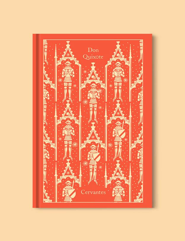 Penguin Clothbound Classics - Don Quixote by Miguel Cervantes. For books that inspire travel visit www.taleway.com to find books set around the world. penguin books, penguin classics, penguin classics list, penguin classics clothbound, clothbound classics, coralie bickford smith, classic books, classic books to read, book design, reading challenge, books and travel, travel reads, reading list, books around the world, books to read, books set in different countries