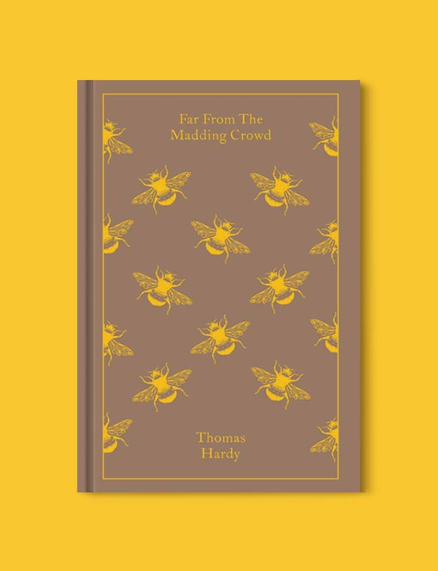 Penguin Clothbound Classics - Far From the Madding Crowd by Thomas Hardy. For books that inspire travel visit www.taleway.com to find books set around the world. penguin books, penguin classics, penguin classics list, penguin classics clothbound, clothbound classics, coralie bickford smith, classic books, classic books to read, book design, reading challenge, books and travel, travel reads, reading list, books around the world, books to read, books set in different countries
