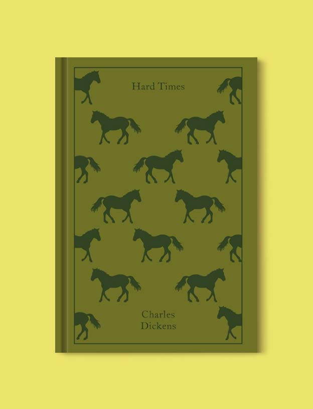 Penguin Clothbound Classics - Hard Times by Charles Dickens. For books that inspire travel visit www.taleway.com to find books set around the world. penguin books, penguin classics, penguin classics list, penguin classics clothbound, clothbound classics, coralie bickford smith, classic books, classic books to read, book design, reading challenge, books and travel, travel reads, reading list, books around the world, books to read, books set in different countries