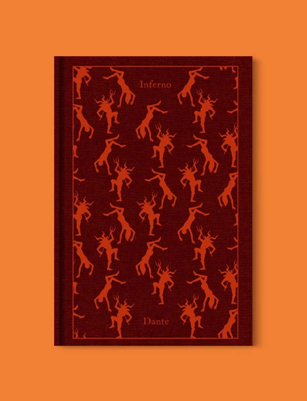 Penguin Clothbound Classics - Inferno: The Divine Comedy I by Dante. For books that inspire travel visit www.taleway.com to find books set around the world. penguin books, penguin classics, penguin classics list, penguin classics clothbound, clothbound classics, coralie bickford smith, classic books, classic books to read, book design, reading challenge, books and travel, travel reads, reading list, books around the world, books to read, books set in different countries