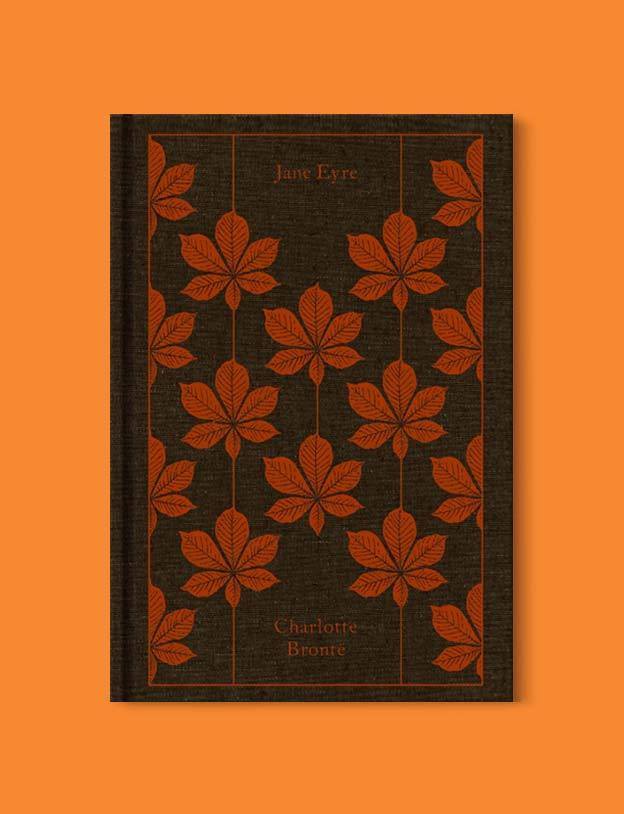 Penguin Clothbound Classics - Jane Eyre by Charlotte Brontë. For books that inspire travel visit www.taleway.com to find books set around the world. penguin books, penguin classics, penguin classics list, penguin classics clothbound, clothbound classics, coralie bickford smith, classic books, classic books to read, book design, reading challenge, books and travel, travel reads, reading list, books around the world, books to read, books set in different countries