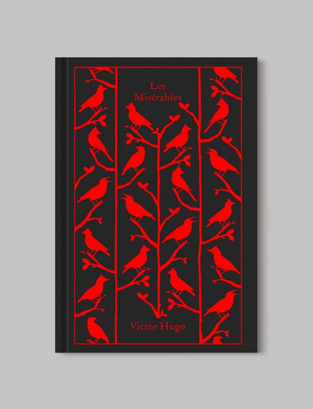 Penguin Clothbound Classics - Les Miserables by Victor Hugo. For books that inspire travel visit www.taleway.com to find books set around the world. penguin books, penguin classics, penguin classics list, penguin classics clothbound, clothbound classics, coralie bickford smith, classic books, classic books to read, book design, reading challenge, books and travel, travel reads, reading list, books around the world, books to read, books set in different countries