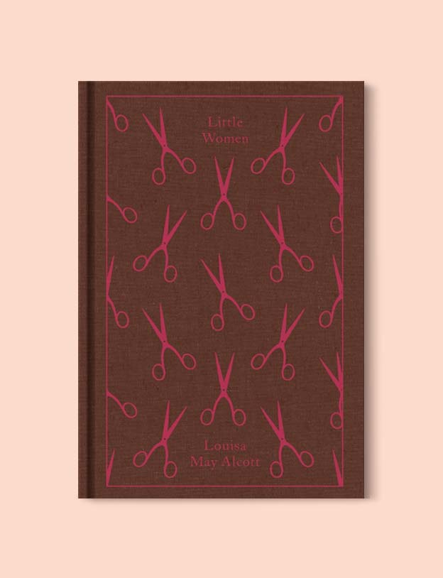 Penguin Clothbound Classics - Little Women by Louisa May Alcott. For books that inspire travel visit www.taleway.com to find books set around the world. penguin books, penguin classics, penguin classics list, penguin classics clothbound, clothbound classics, coralie bickford smith, classic books, classic books to read, book design, reading challenge, books and travel, travel reads, reading list, books around the world, books to read, books set in different countries