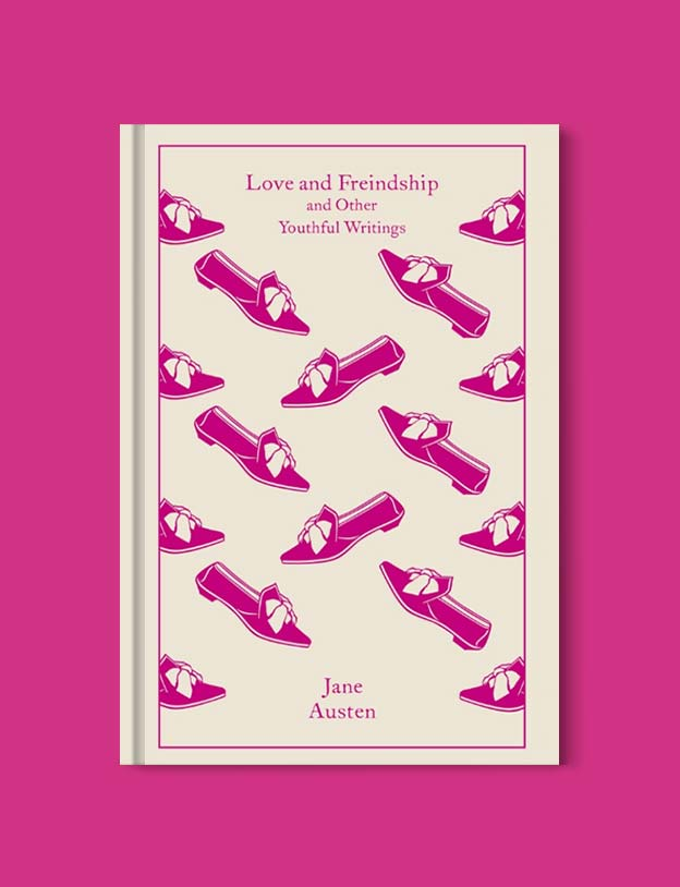 Penguin Clothbound Classics - Love and Friendship: And Other Youthful Writings by Jane Austen. For books that inspire travel visit www.taleway.com to find books set around the world. penguin books, penguin classics, penguin classics list, penguin classics clothbound, clothbound classics, coralie bickford smith, classic books, classic books to read, book design, reading challenge, books and travel, travel reads, reading list, books around the world, books to read, books set in different countries