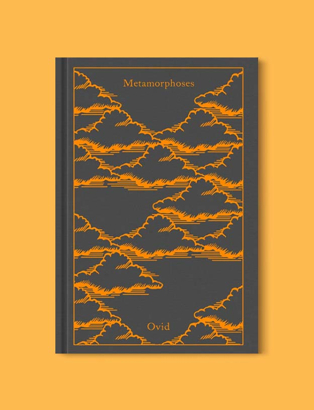 Penguin Clothbound Classics - Metamorphases by Ovid. For books that inspire travel visit www.taleway.com to find books set around the world. penguin books, penguin classics, penguin classics list, penguin classics clothbound, clothbound classics, coralie bickford smith, classic books, classic books to read, book design, reading challenge, books and travel, travel reads, reading list, books around the world, books to read, books set in different countries