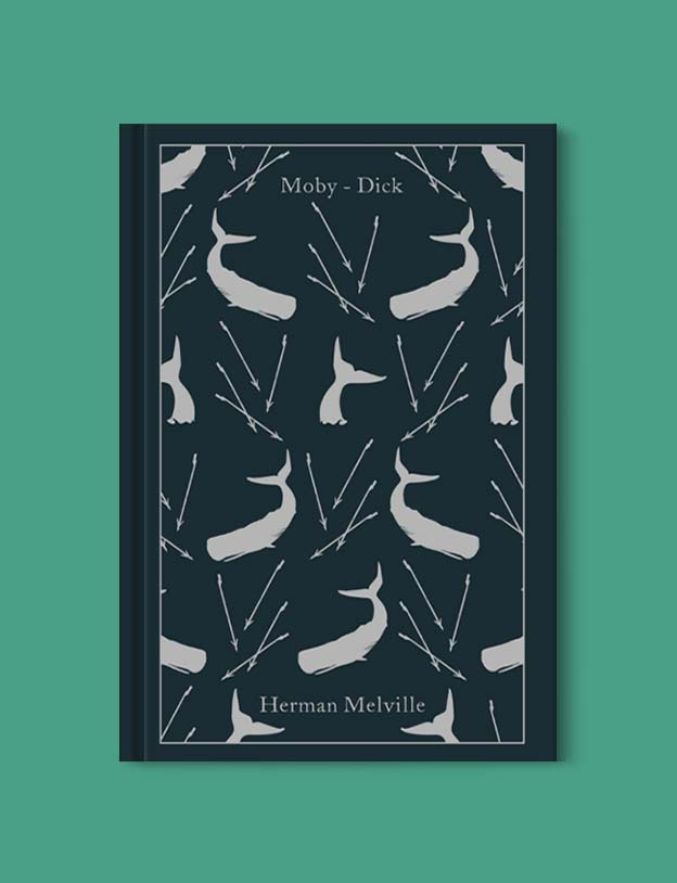 Penguin Clothbound Classics - Moby Dick by Herman Mellville. For books that inspire travel visit www.taleway.com to find books set around the world. penguin books, penguin classics, penguin classics list, penguin classics clothbound, clothbound classics, coralie bickford smith, classic books, classic books to read, book design, reading challenge, books and travel, travel reads, reading list, books around the world, books to read, books set in different countries