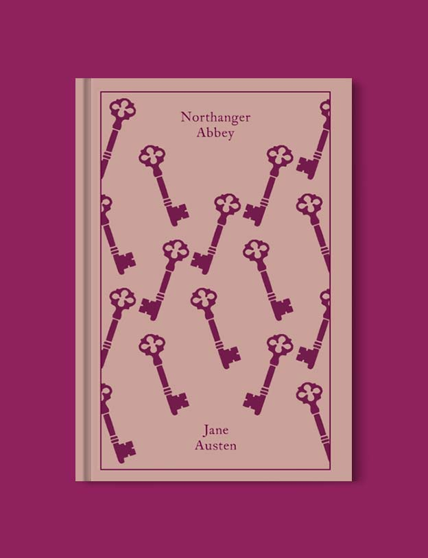 Penguin Clothbound Classics - Northanger Abbey by Jane Austen. For books that inspire travel visit www.taleway.com to find books set around the world. penguin books, penguin classics, penguin classics list, penguin classics clothbound, clothbound classics, coralie bickford smith, classic books, classic books to read, book design, reading challenge, books and travel, travel reads, reading list, books around the world, books to read, books set in different countries