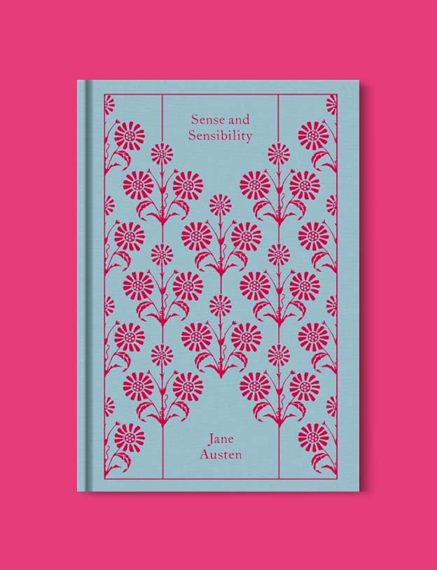 Penguin Clothbound Classics - Sense and Sensibility by Jane Austen. For books that inspire travel visit www.taleway.com to find books set around the world. penguin books, penguin classics, penguin classics list, penguin classics clothbound, clothbound classics, coralie bickford smith, classic books, classic books to read, book design, reading challenge, books and travel, travel reads, reading list, books around the world, books to read, books set in different countries