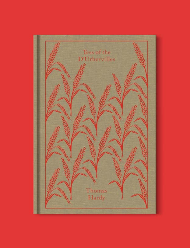 Penguin Clothbound Classics - Tess of the d'Urbervilles by Thomas Hardy. For books that inspire travel visit www.taleway.com to find books set around the world. penguin books, penguin classics, penguin classics list, penguin classics clothbound, clothbound classics, coralie bickford smith, classic books, classic books to read, book design, reading challenge, books and travel, travel reads, reading list, books around the world, books to read, books set in different countries