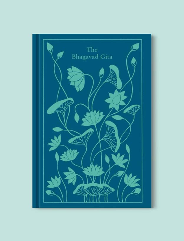 Penguin Clothbound Classics - The Bhagavad Gita by Juan Mascaro (Translator). For books that inspire travel visit www.taleway.com to find books set around the world. penguin books, penguin classics, penguin classics list, penguin classics clothbound, clothbound classics, coralie bickford smith, classic books, classic books to read, book design, reading challenge, books and travel, travel reads, reading list, books around the world, books to read, books set in different countries