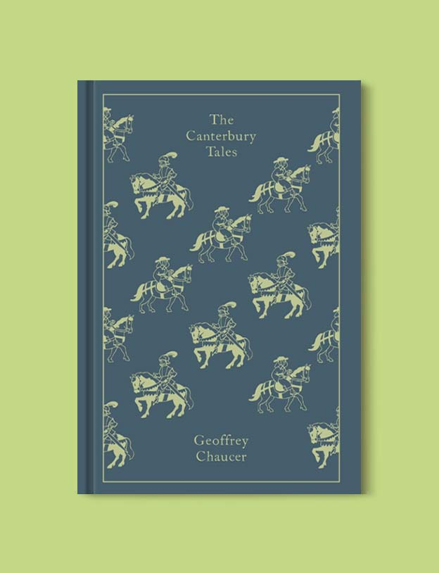 Penguin Clothbound Classics - The Canterbury Tales by Geoffrey Chaucer. For books that inspire travel visit www.taleway.com to find books set around the world. penguin books, penguin classics, penguin classics list, penguin classics clothbound, clothbound classics, coralie bickford smith, classic books, classic books to read, book design, reading challenge, books and travel, travel reads, reading list, books around the world, books to read, books set in different countries