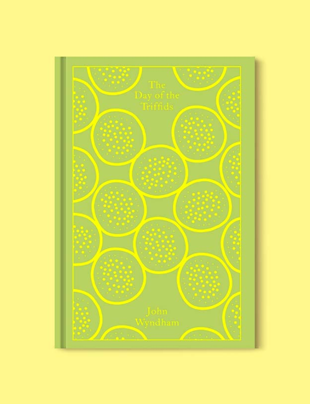 Penguin Clothbound Classics - The Day of the Triffids by John Wyndham. For books that inspire travel visit www.taleway.com to find books set around the world. penguin books, penguin classics, penguin classics list, penguin classics clothbound, clothbound classics, coralie bickford smith, classic books, classic books to read, book design, reading challenge, books and travel, travel reads, reading list, books around the world, books to read, books set in different countries