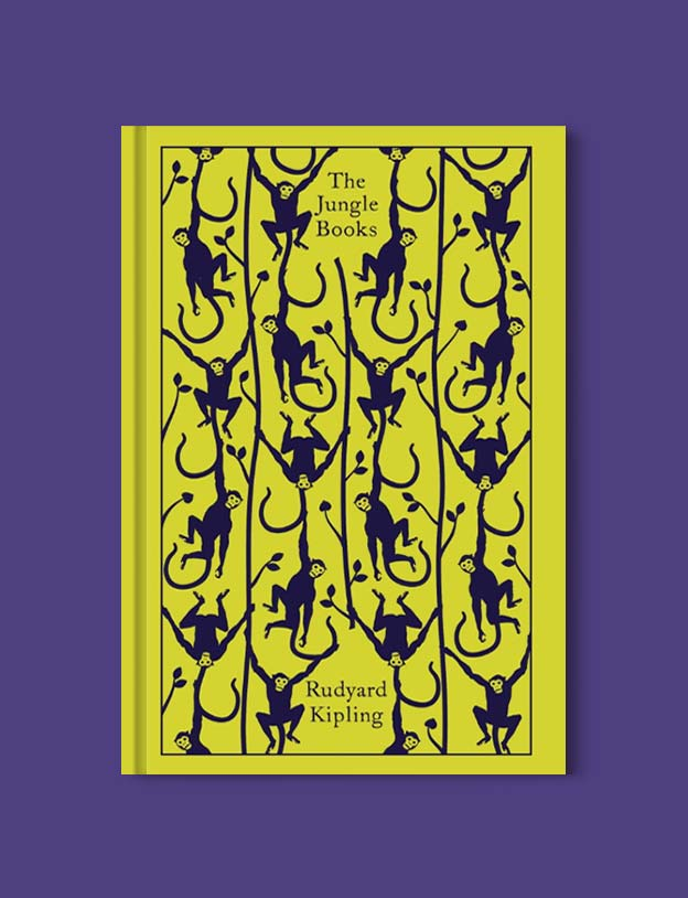 Penguin Clothbound Classics - The Jungle Books by Rudyard Kipling. For books that inspire travel visit www.taleway.com to find books set around the world. penguin books, penguin classics, penguin classics list, penguin classics clothbound, clothbound classics, coralie bickford smith, classic books, classic books to read, book design, reading challenge, books and travel, travel reads, reading list, books around the world, books to read, books set in different countries