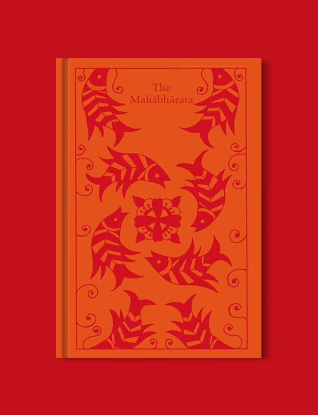 Penguin Clothbound Classics - The Mahabharata by John D. Smith (Author, Translator). For books that inspire travel visit www.taleway.com to find books set around the world. penguin books, penguin classics, penguin classics list, penguin classics clothbound, clothbound classics, coralie bickford smith, classic books, classic books to read, book design, reading challenge, books and travel, travel reads, reading list, books around the world, books to read, books set in different countries