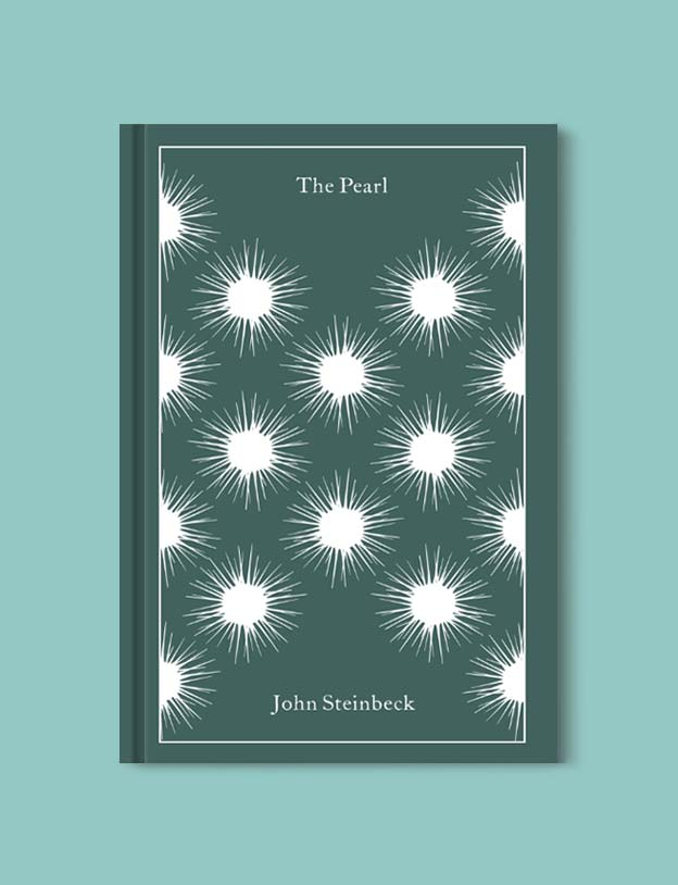 Penguin Clothbound Classics - The Pearl by John Steinbeck. For books that inspire travel visit www.taleway.com to find books set around the world. penguin books, penguin classics, penguin classics list, penguin classics clothbound, clothbound classics, coralie bickford smith, classic books, classic books to read, book design, reading challenge, books and travel, travel reads, reading list, books around the world, books to read, books set in different countries