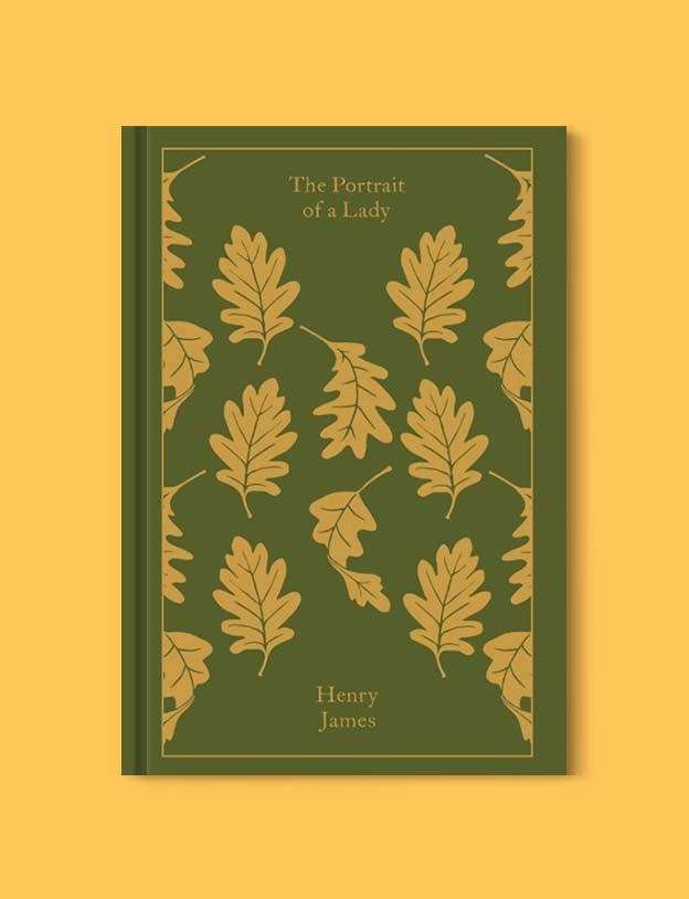 Penguin Clothbound Classics - The Portrait of A Lady by Henry James. For books that inspire travel visit www.taleway.com to find books set around the world. penguin books, penguin classics, penguin classics list, penguin classics clothbound, clothbound classics, coralie bickford smith, classic books, classic books to read, book design, reading challenge, books and travel, travel reads, reading list, books around the world, books to read, books set in different countries