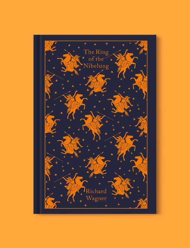 Penguin Clothbound Classics - The Ring of the Nibelung by Richard Wagner. For books that inspire travel visit www.taleway.com to find books set around the world. penguin books, penguin classics, penguin classics list, penguin classics clothbound, clothbound classics, coralie bickford smith, classic books, classic books to read, book design, reading challenge, books and travel, travel reads, reading list, books around the world, books to read, books set in different countries