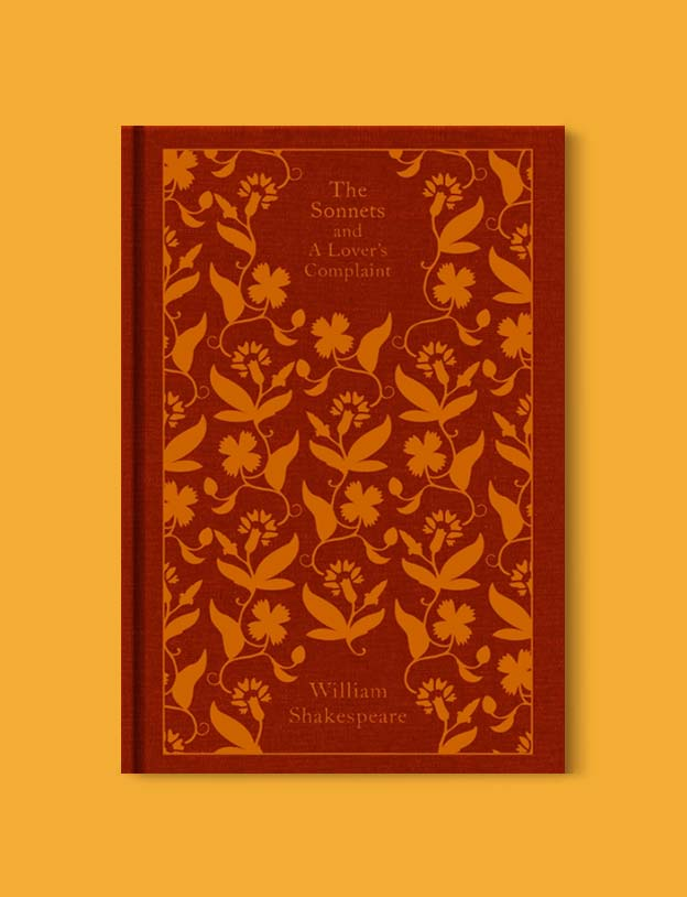 Penguin Clothbound Classics - The Sonnets and A Lover's Complaint by William Shakespeare. For books that inspire travel visit www.taleway.com to find books set around the world. penguin books, penguin classics, penguin classics list, penguin classics clothbound, clothbound classics, coralie bickford smith, classic books, classic books to read, book design, reading challenge, books and travel, travel reads, reading list, books around the world, books to read, books set in different countries