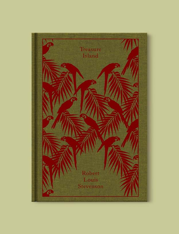 Penguin Clothbound Classics - Treasure Island by Robert Louis Stevenson. For books that inspire travel visit www.taleway.com to find books set around the world. penguin books, penguin classics, penguin classics list, penguin classics clothbound, clothbound classics, coralie bickford smith, classic books, classic books to read, book design, reading challenge, books and travel, travel reads, reading list, books around the world, books to read, books set in different countries