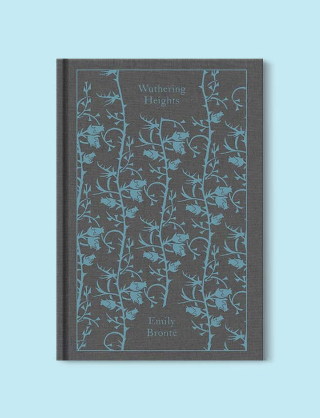 Penguin Clothbound Classics - Wuthering Heights by Emily Brontë. For books that inspire travel visit www.taleway.com to find books set around the world. penguin books, penguin classics, penguin classics list, penguin classics clothbound, clothbound classics, coralie bickford smith, classic books, classic books to read, book design, reading challenge, books and travel, travel reads, reading list, books around the world, books to read, books set in different countries